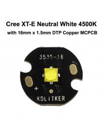 New Cree XT-E R4 4D Neutral White 4500K LED Emitter (1 pc)