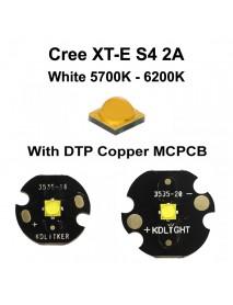 New Cree XT-E S4 2A White 5700K - 6200K LED Emitter (1 pc)