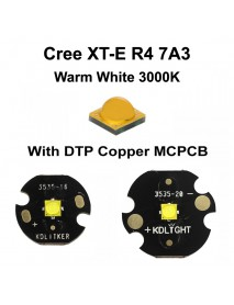 New Cree XT-E R4 7A3 Warm White 3000K LED Emitter High CRI80 (1 pc)