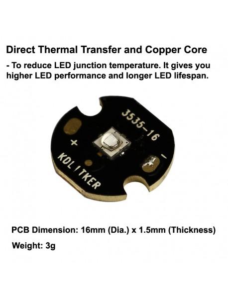 Luminus SST-10 UV 365nm Ultraviolet UV LED Emitter (1 pc)