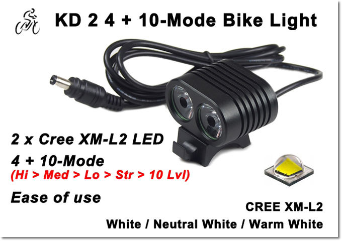 High Power KD 2 Bike Light