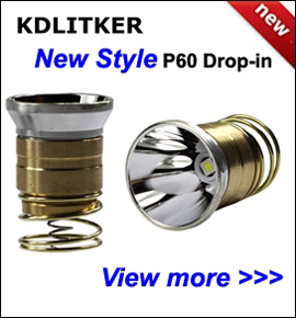 New Style KDLITKER P60 LED Drop-in