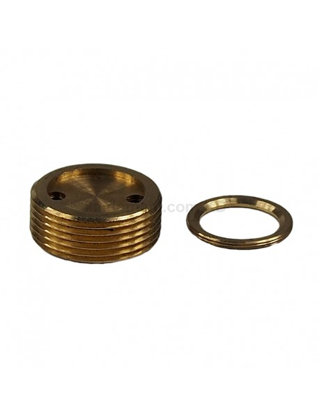 DIY 21.8mm x 8.5mm Brass Driver Pillar Set for S2 LED Flashlights ( 1 pc )