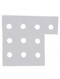 16mm x 0.5mm Paper Insulation Gaskets for LED Protector / Isolator (10 pcs)