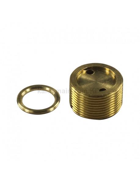 DIY 21.8mm x 13mm Brass Driver Pillar Set for S2 Plus LED Flashlights ( 1 pc )