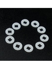 3535 LED Gaskets for 7mm Reflector Hole 8.4mm(D) x 0.9mm(T) (10 pcs)