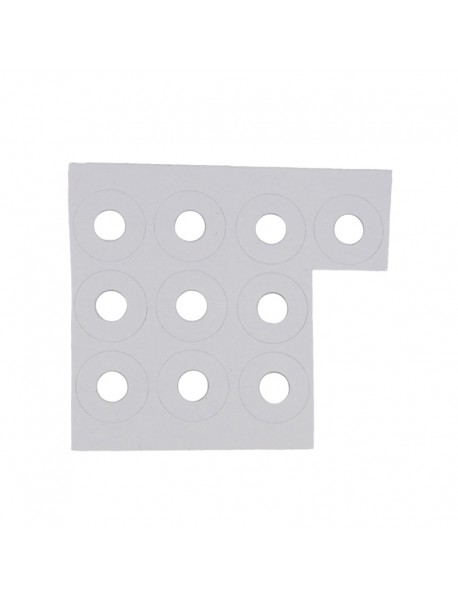 21mm (D) x 0.4mm (T) PET Harden LED Protector / Isolator (10 pcs)