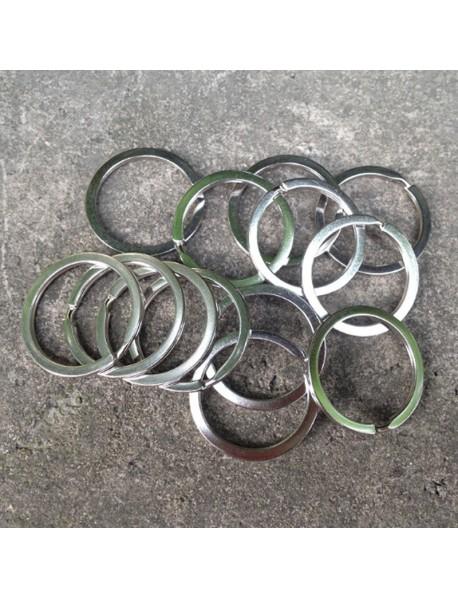 EDC 32mm Stainless Steel Split Key Ring (5 pcs)
