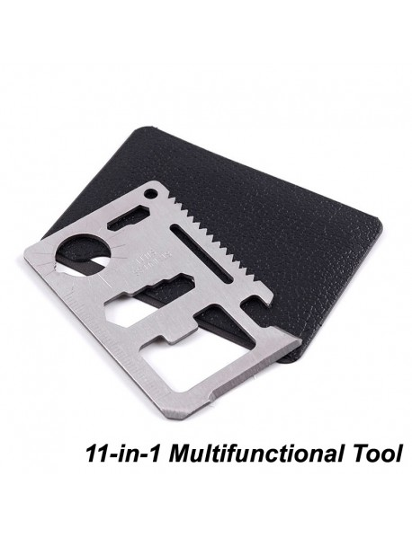 EDC 11-in-1 Stainless Steel Multifunctional Tool (1 pc)