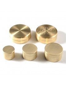 Waterproof Brass Storage Case Seal Canister (1 pc)