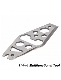 Multifunctional 11-in-1 Stainless Steel EDC Tool (1 pc)