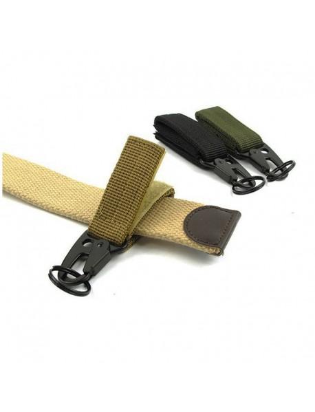 Outdoor Nylon Webbing Buckle Belt Clip (1 pc)