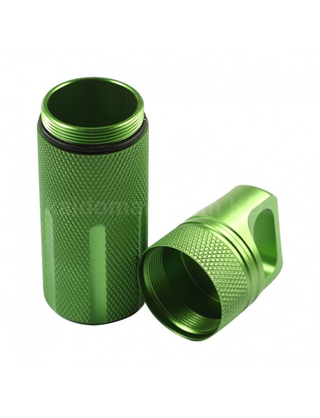 Outdoor CNC EDC Waterproof Storage Case Seal Canister