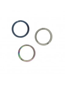 EDC 22mm Round Titanium Keyring Ring (1 pc)