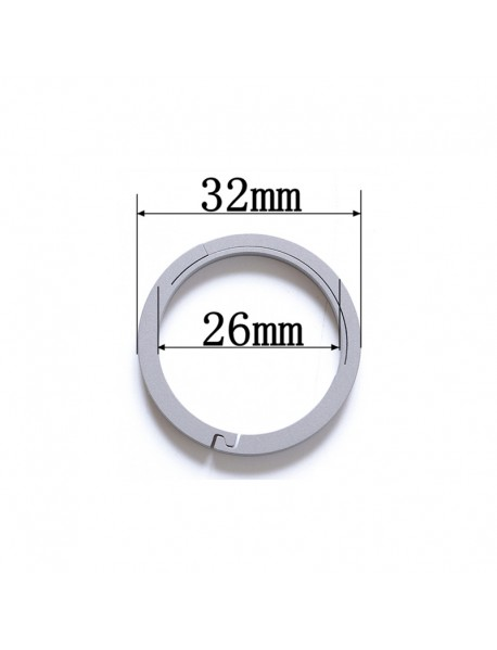 EDC 32mm Round Titanium Keyring Ring (1 pc)