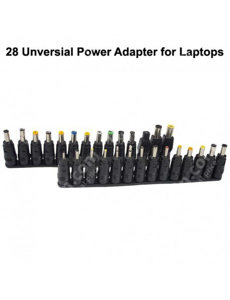 DC 5.5mm x 2.1mm to 28 Universal Power Adapters for Laptops ( 1 pc )