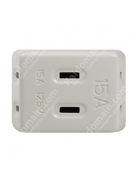 KLD-303A 3 in 1 Travel Power Adapter - White (US plug)