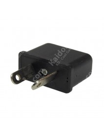 US/EU to AU Power Plug Adapter 6A 125V-250V - Black (2 pcs)