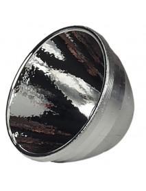 37mm(D) x 21mm(H) OP Aluminum Reflector For C2 Flashlight