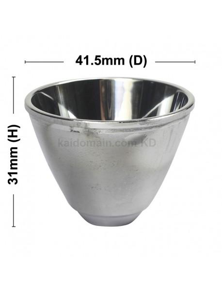 C12 Flashlight Aluminum Reflector 41.5mm (D) x 31mm (H)