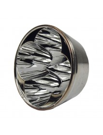 66.6mm (D) x 30mm (H) SMO Aluminum Reflector for 4 x Cree XM-L (1 PC)