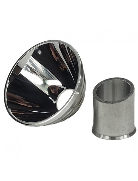 52mm(D) x 28mm(H) M*g SMO Aluminum Reflector V3.1 15mm Opening