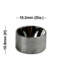 18.2mm(D) x 10.8mm(H) OP Aluminum Reflector