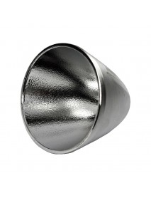 60mm (D) x 50mm (H) OP Aluminum Reflector for Cree XM-L / XHP LED (1 PC)