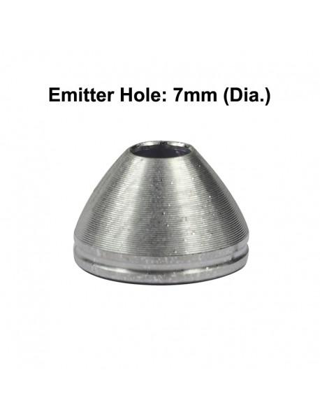 20.6mm(D) x 13.3mm(H) SMO / OP Aluminum Reflector for Cree XP-L HI
