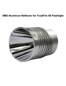 42mm (D) x 52mm (H) SMO Aluminum Reflector for TrustFire X8 Flashlight