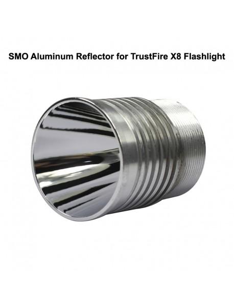 42mm (D) x 52mm (H) SMO Aluminum Reflector for TrustFire X8 Flashlight