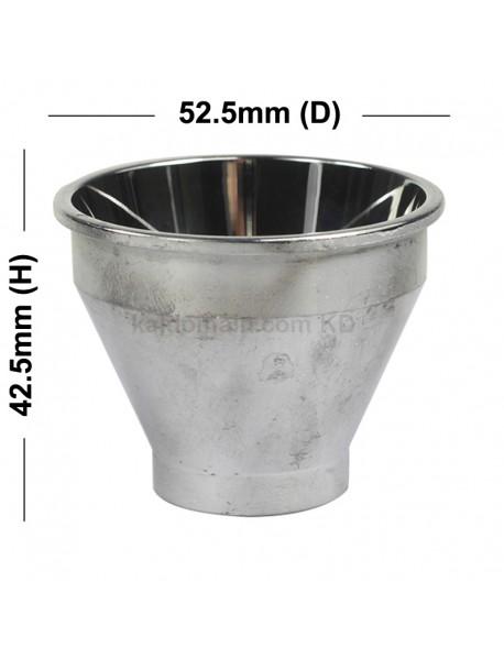 52.5mm (D) x 42.5mm (H) SMO Aluminum Reflector for Cree XM-L