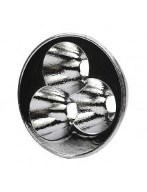 52.8mm (D) x 18_6mm (H) OP Aluminum Reflector for 3 x Cree XM-L