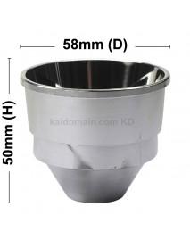58mm (D) x 50mm (H) SMO Aluminum Reflector (1 PC)