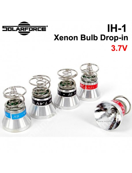 Solarforce IH-1 3.7V Xenon Gas Bulb-reflector Module