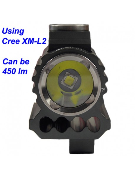 TrustFire TR-D017 Cree XM-L2 LED 450 Lumens 3-Mode Bike Light with Battery Set