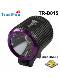 TrustFire TR-D015 Cree XM-L2 LED 580 Lumens 3-Mode Bike Light with Battery Set