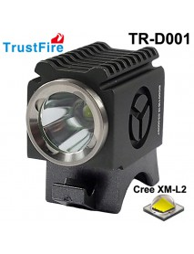 TrustFire TR-D001 Cree XM-L2 LED 600 Lumens 4-Mode Bike Light with Battery Set