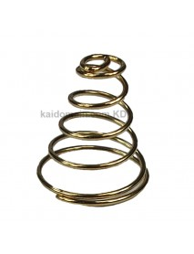 20mm(D)x22mm(H) DIY Gold Plated Battery / Driver Contact Support Springs for Flashlights - 1 pc