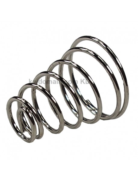 31mm (D) x 35mm (H) Nickel Plated Spring (1 pc)