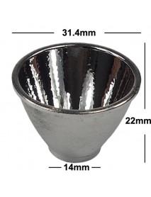 31.4mm(D) x 22mm(H) OP Aluminum Reflector
