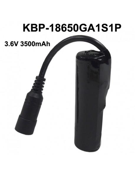 KBP-18650GA1S1P 3.6V 3500mAh NCR18650GA Rechargeable 18650 Li-ion Battery Pack