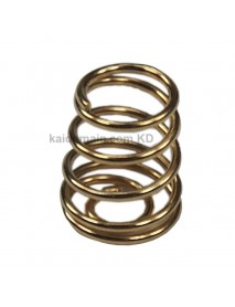 7mm(D) x 8mm(H) DIY Gold Plated Battery / Driver Contact Support Springs ( 5 pcs )