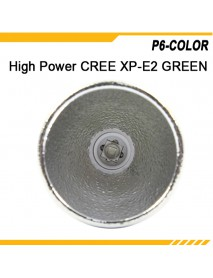 KDLITKER P6-COLOR Cree XP-E2 Green 530nm 280 Lumens 3V - 9V 1-Mode OP P60 Drop-in