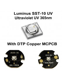 Luminus SST-10 UV 365nm Ultraviolet UV LED Emitter (1 pc)