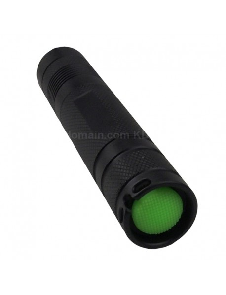 DIY S2 LED Flashlight Host 124mm(L) x 24mm(D) - Black