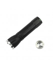102mm (L) x 28mm (D) DIY Zoomable LED Flashlight Host for Cree XP ( 1xAA / 1x16340 )
