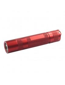 S2 Plus LED Flashlight Host 118mm x 24mm - Red