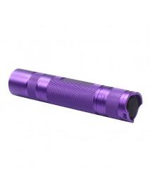 DIY S2 Plus LED Flashlight Host 118mm x 24mm - Purple