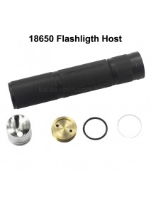 116mm (L) x 24mm (D) LED Flashlight Host (1 pc)